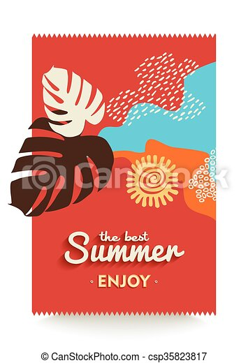 enjoy your summer vacations paradise beach poster the best summer