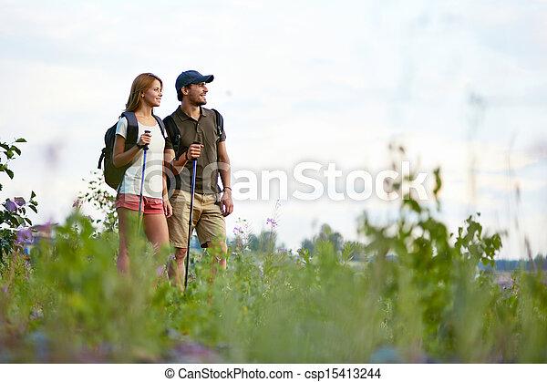 Enjoying nature - csp15413244