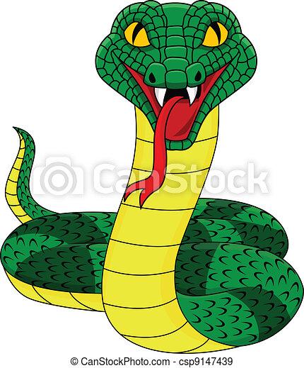 Serpiente enojada - csp9147439