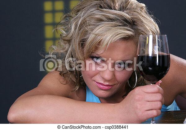 Enough Wine now - csp0388441