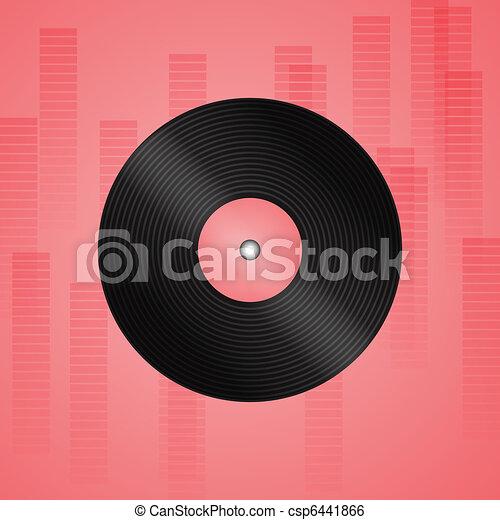 enregistrement, vinyle - csp6441866
