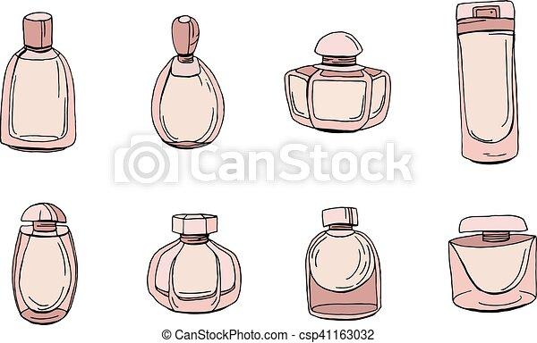 Illustraton Du Dessin D'objets Isolés Des Baskets Avec Une