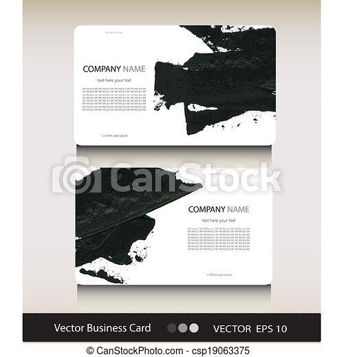 ensemble, business, texte, résumé, endroit, ton, carte - csp19063375