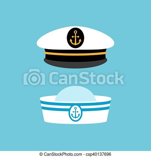 new york buy online later Chapeau, capitaine, marin, bateau, uniforme. 10, chapeau ...