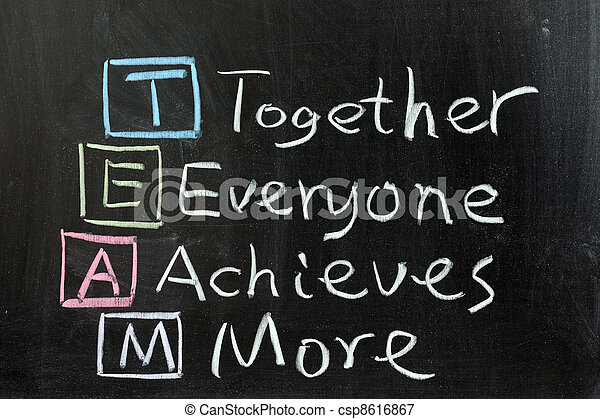 ensemble, everyone, réalise, team:, plus - csp8616867