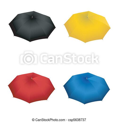 ensemble, parapluie - csp5638737