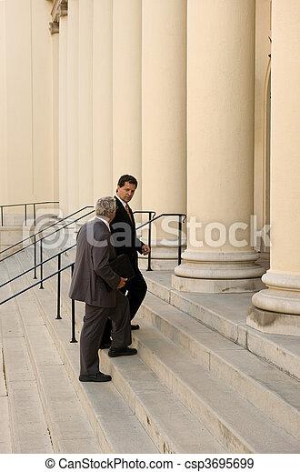 Entering Court - csp3695699