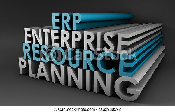 Enterprise Resource Planning ERP - csp2980592