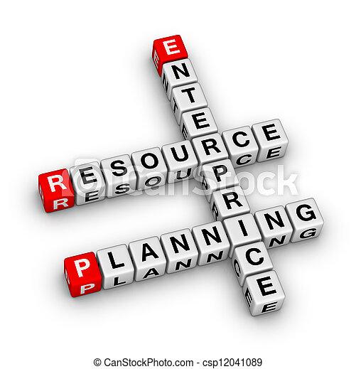 Enterprise Resource Planning (ERP) - csp12041089