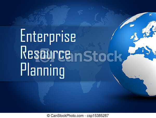 Enterprise Resource Planning - csp15385287