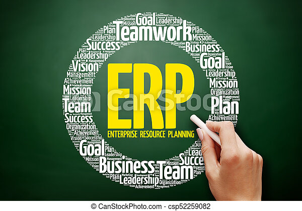 Enterprise Resource Planning - csp52259082