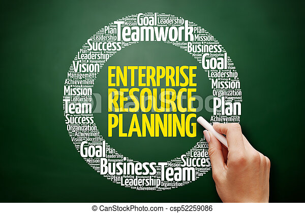 Enterprise Resource Planning - csp52259086