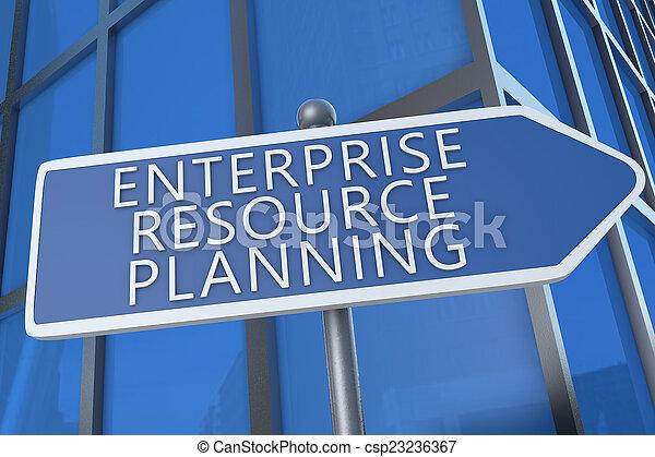 Enterprise Resource Planning - csp23236367