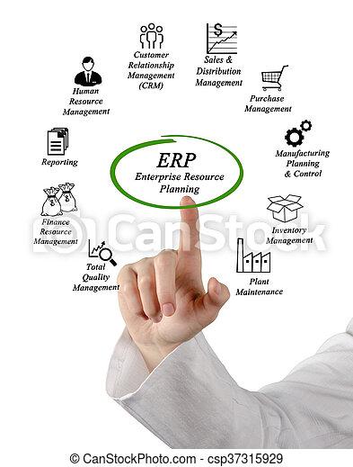 Enterprise Resource Planning - csp37315929