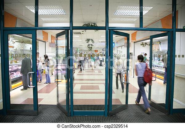 entrée, magasin - csp2329514