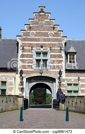 Entrance to the castle - csp8961473