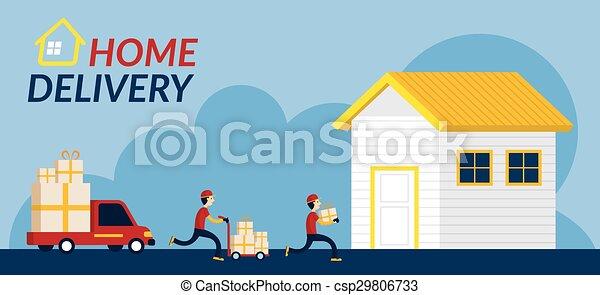 Servicio de entrega a domicilio - csp29806733