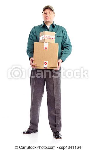 Trabajador de entregas - csp4841164
