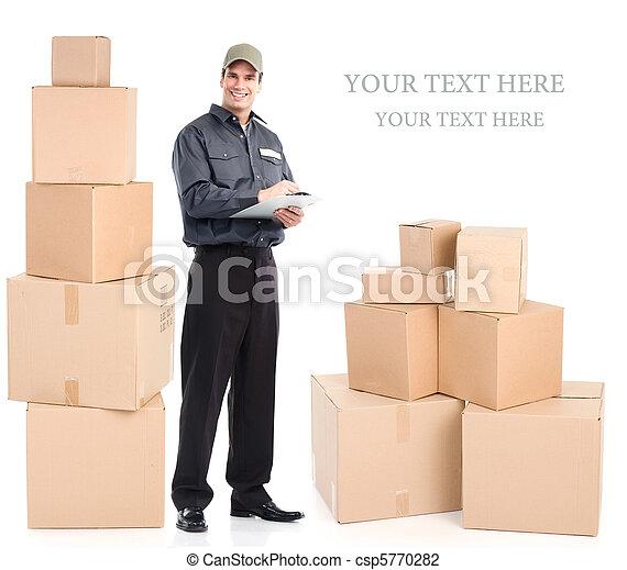 Trabajador de entregas - csp5770282