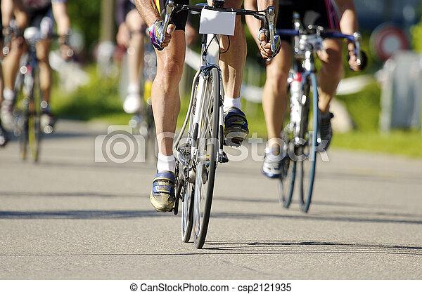 entrenamiento, bicicleta - csp2121935
