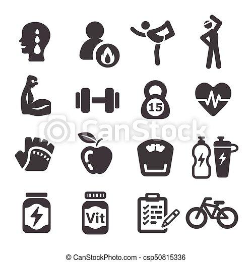 un icono de entrenamiento entrenamiento icono ejercicio