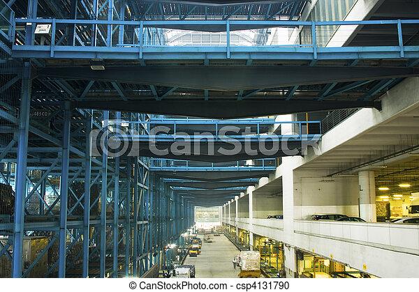 entrepôt, grand - csp4131790