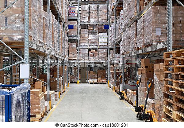 entrepôt, stockage - csp18001201