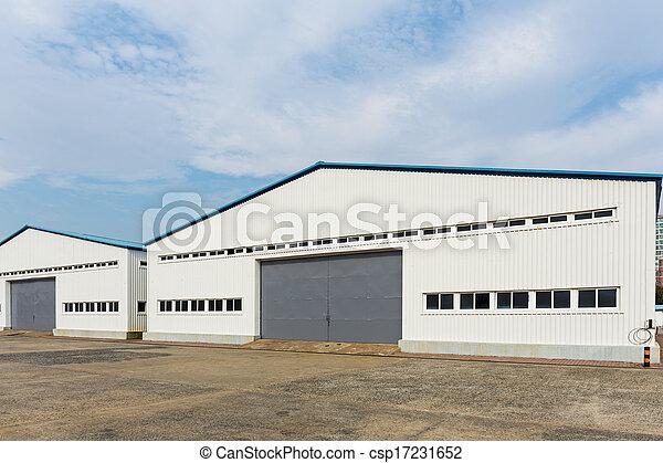 entrepôt, stockage - csp17231652