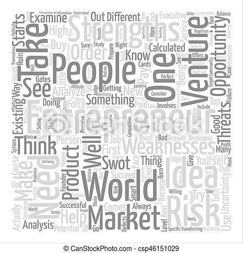Entrepreneurs ll text background word cloud concept - csp46151029