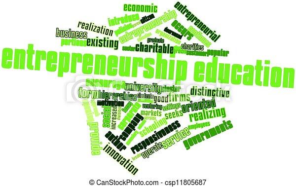 Entrepreneurship education - csp11805687