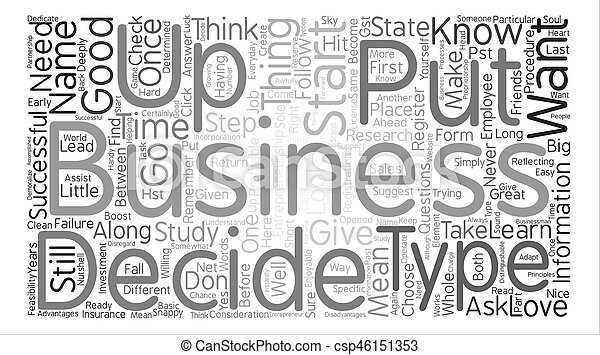 entrepreneurship Word Cloud Concept Text Background - csp46151353