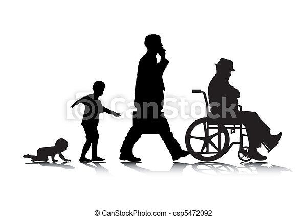 Edad humana 2 - csp5472092