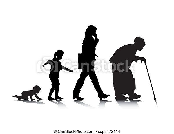 Edad humana 3 - csp5472114