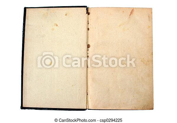 envelhecido, livro - csp0294225