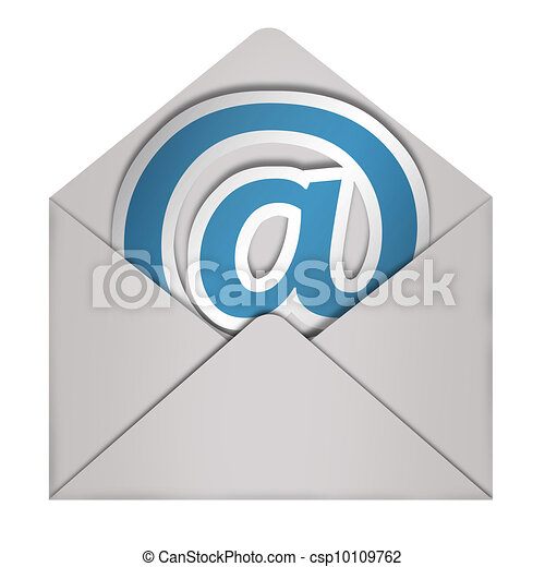 Envelope Email sign  - csp10109762