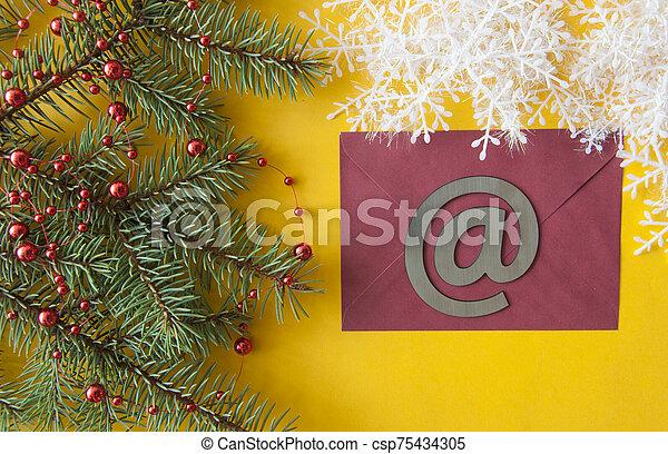 envelope, greeting card or invitation mailing. - csp75434305