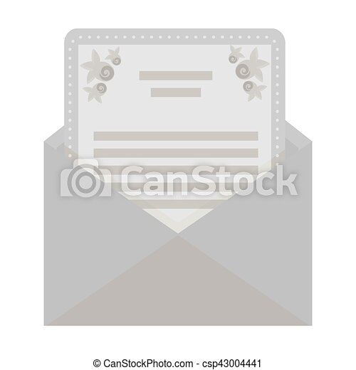 Envelope with invitation card icon in monochrome style isolated on envelope with invitation card icon in monochrome style isolated on white background event service stopboris Image collections
