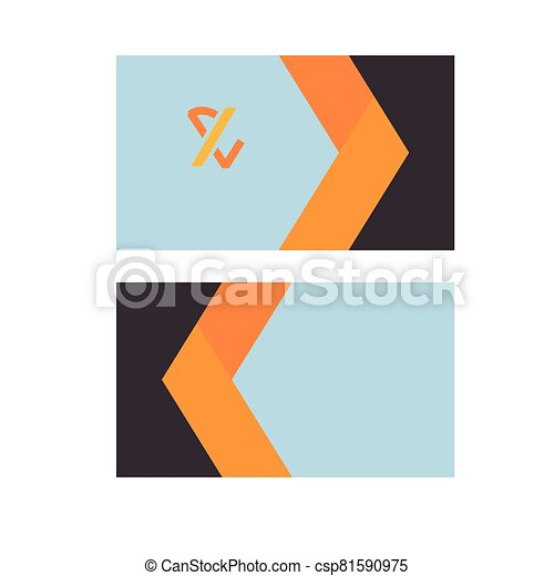 envelopes with stationery templates icons - csp81590975