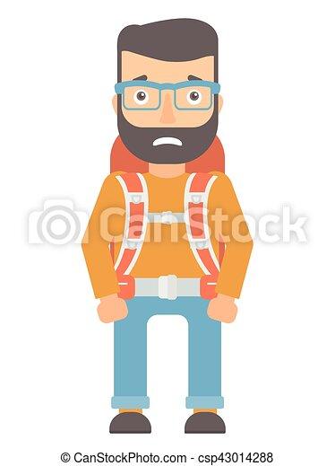 envergonhado backpack turista backpack turista apartamento