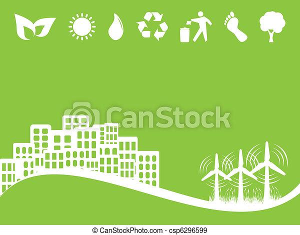 Environment and Eco Symbols - csp6296599