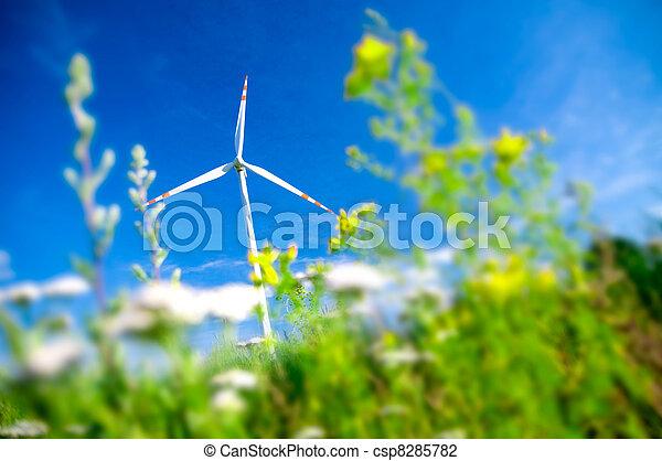 Environment fiendly landscape. - csp8285782