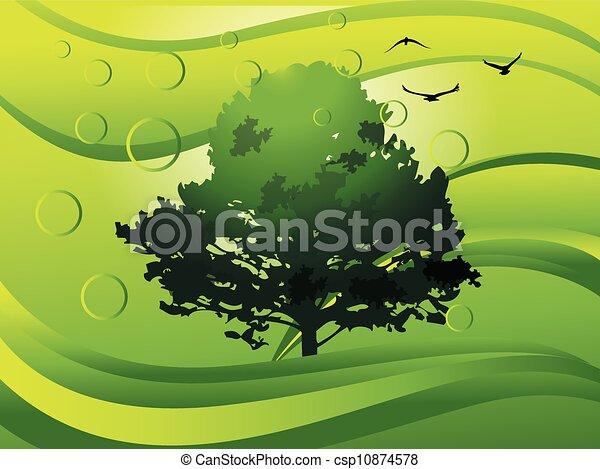 Environment, illustration - csp10874578