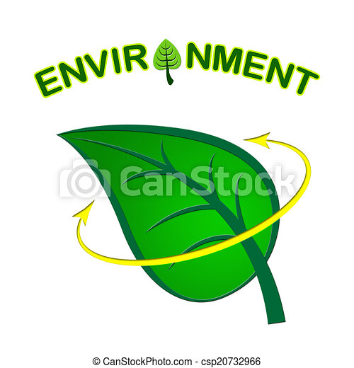 environment leaf shows earth friendly and conservation environment rh canstockphoto ca Meeting Clip Art Tractor Clip Art