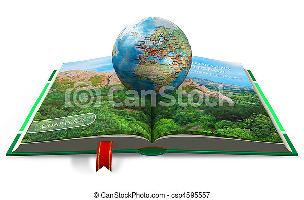 Environment protection concept - csp4595557