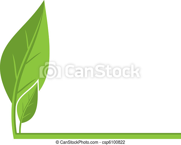 Environmental background with leaves - csp6100822