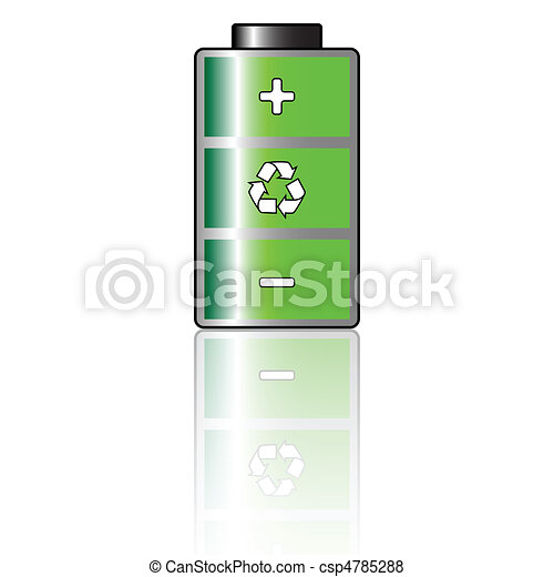 Environmental Battery - csp4785288