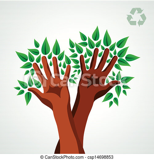Environmental Care Concept Eco Friendly Concept Tree Hand Leaf