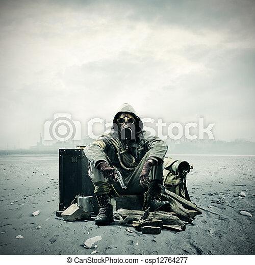 Environmental disaster - csp12764277