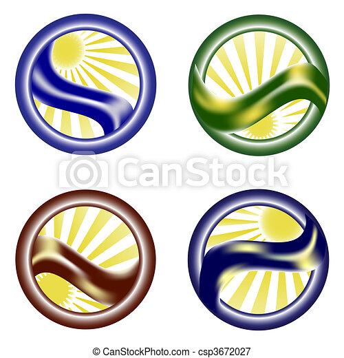 Environmental icon set - csp3672027