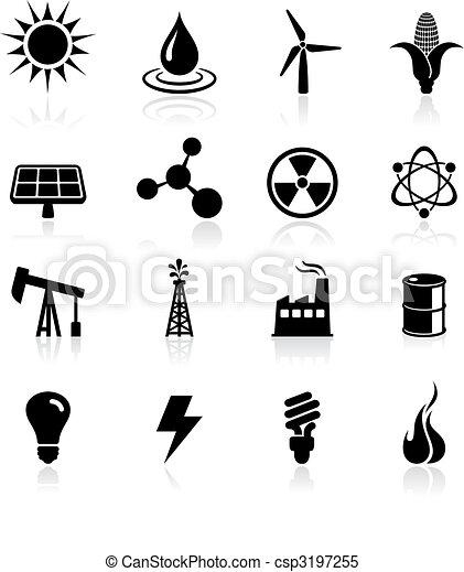 Environmental icons set - csp3197255
